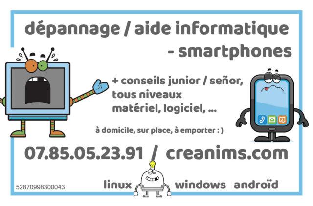 Dépannage Aide Informatique 82 Tarn et Garonne